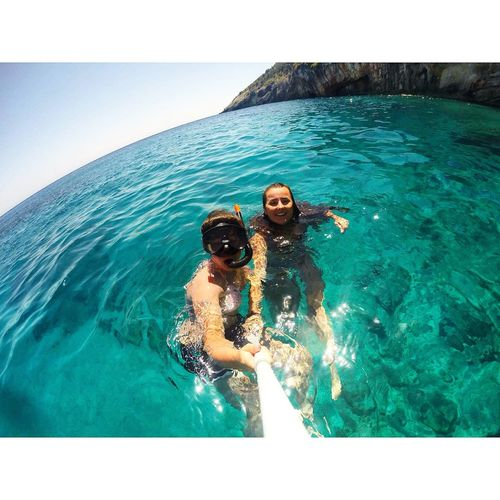 Zante Beach Sea Snorkeling Blue Gopro Goprooftheday GoPro Hero3+ Holiday Travel