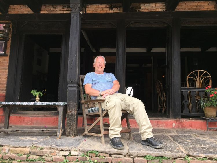 Chilling out in Bandipur Soaking Up The Sun Relaxing Peace And Quiet Life In Nepal
