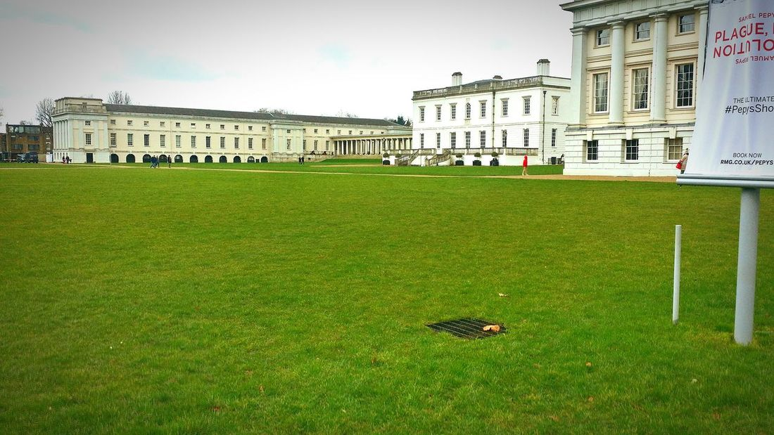 Greenwich Park museum Architecture Built Structure Building Exterior Grass Surface Level Mid Distance City Sky Lawn Green Color Cloud Outdoors Façade Day Cloud - Sky Playing Field Grassland Exterior City Life History EyeEm LOST IN London