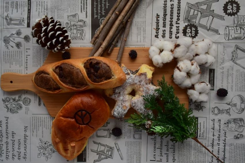 Christmas No People Indoors  Table Variation Star Anise Close-up Exceptional Photographs Freshness Food And Drink Healthy Eating Breakfast Bread Indoors  Morning Light Morning Minimalism Minimal Penny Lane