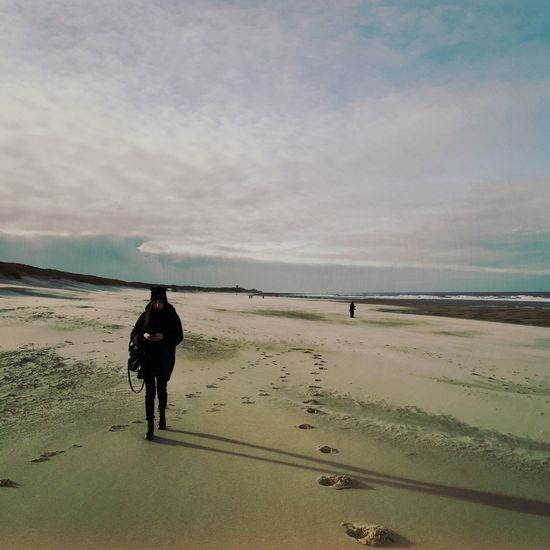 Winter Sea Panorama