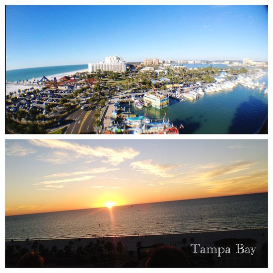Eastcoast Clearwater Florida Tampa Bay Sunset Rooftop View  IPhone Photography IPhone