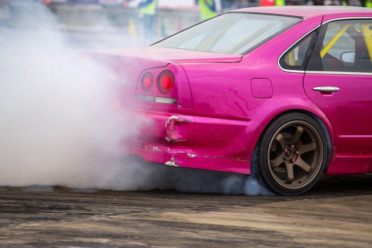 Car drifting,