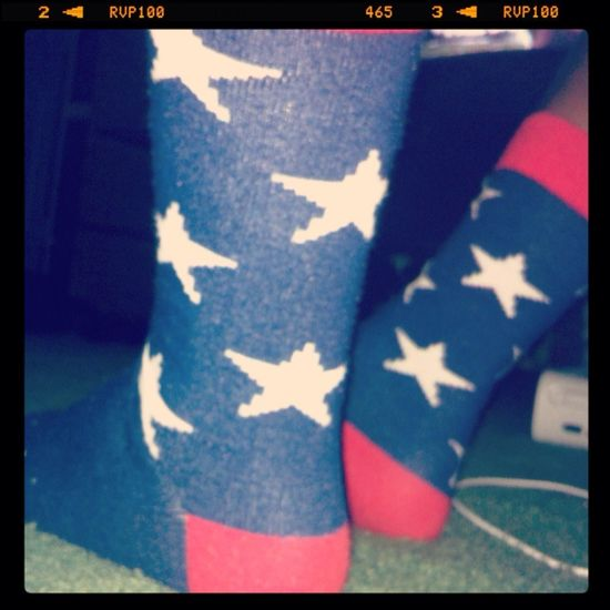#USA #Bored Sorry , just love my socks