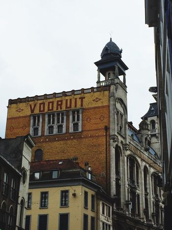 Gent Ghent Vooruit Belgium Buildings City City Life Look Up Looking Up Architecture Old Buildings Vintage Old House OpenEdit No People From My Point Of View