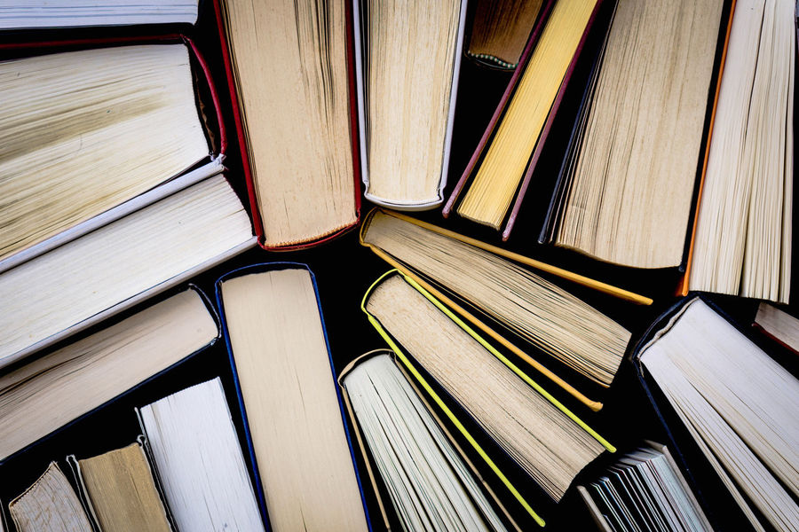 Stories Books Books ♥ Hardcover Book Literature Literatura Knowledge Group Of Objects Large Group Of Objects Multi Colored Side By Side High Angle View Close-up