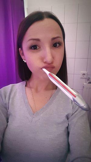 Brushing My Teeth Joking Around Lol Only Women