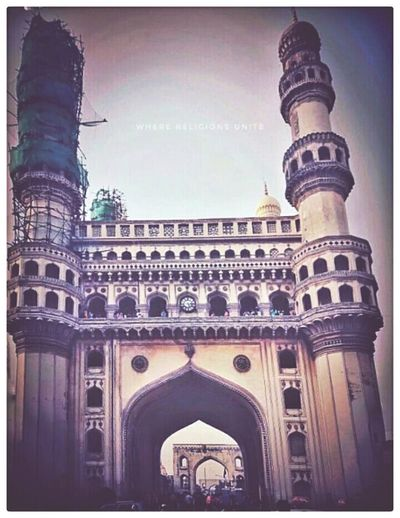 Where Religioms Unite- Hyderabad's Legacy The Charminar. EyeEmNewHere Sashphotography Sommergefühle