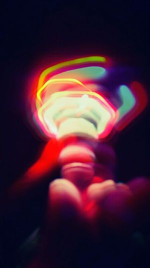 Spütñik Abstract Multi Colored Illuminated Close-up Blurred Motion Glowing Creativity Light Painting Vibrant Color Colorful Mobileartistry
