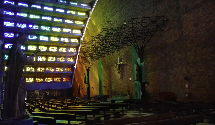 Centro Historico Church Colors El Rosario Indoors  Interior Patrimonio Cultural San Salvador First Eyeem Photo