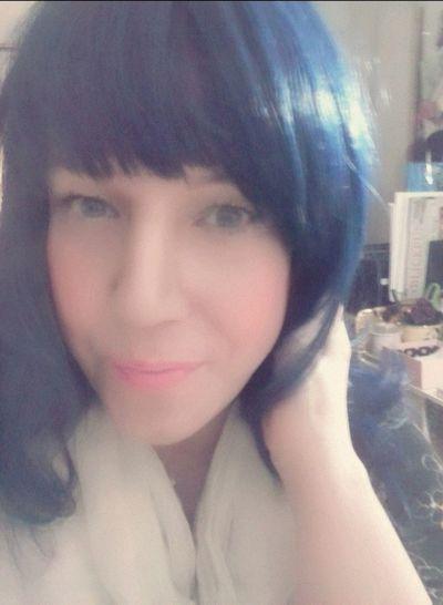 fotd with my blue hair wig FOTD♥ Wigs Fashion Wigs Blue Hair Selfie Beautyblogger Anniesbeautyhouse Fashionblogger