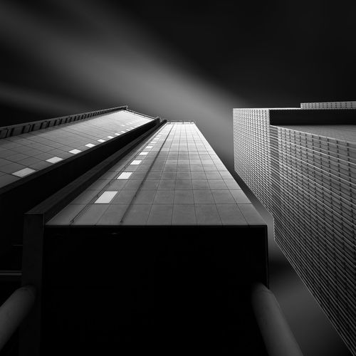 Envision XXVIII Architecture Building Built Structure City Dark Diminishing Perspective Modern No People Sky