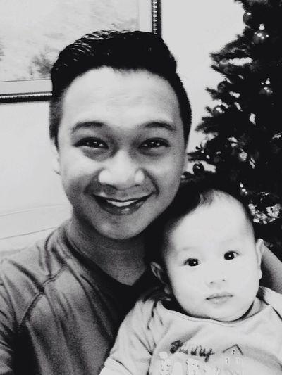 Richenjeyq Blackandwhite Father & Son