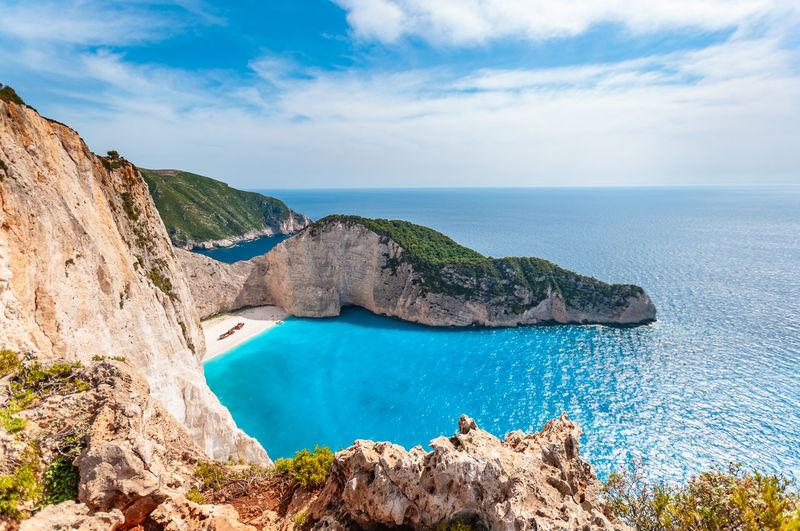 Greece - zakynthos - navagio - shipwreck