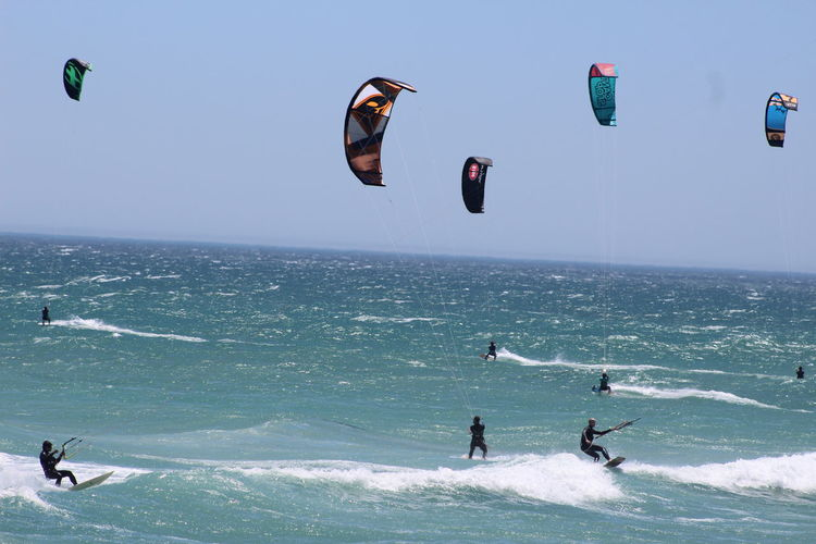Bloubergbeach Cape Town Kiteboard Kiteboarder Kiteboarding Outdoors Sea And Sky Seascape South Africa
