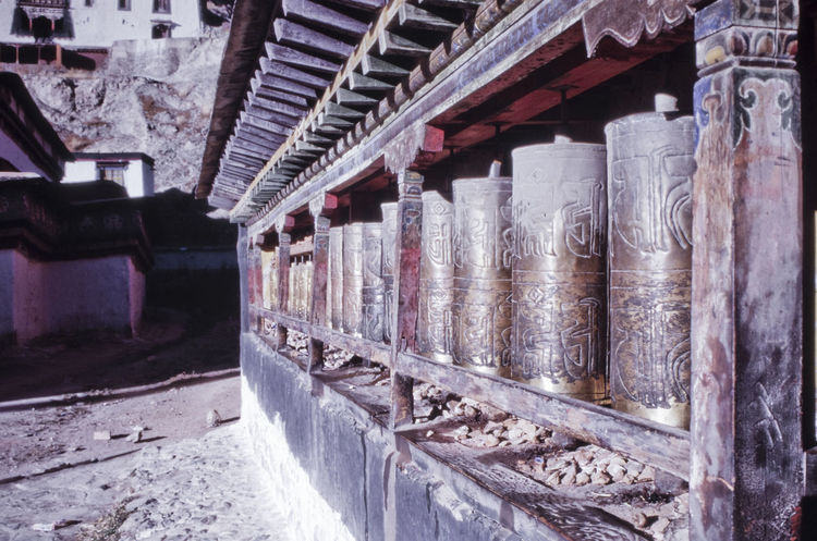 Architecture Buddhism Buddhist Temple Built Structure Cold Temperature Day No People Outdoors Slide Slidefilm Tibet Tibet Culture Tibet Travel Tibetan  Tibetan Buddhism Tibetan Buddhist Temple