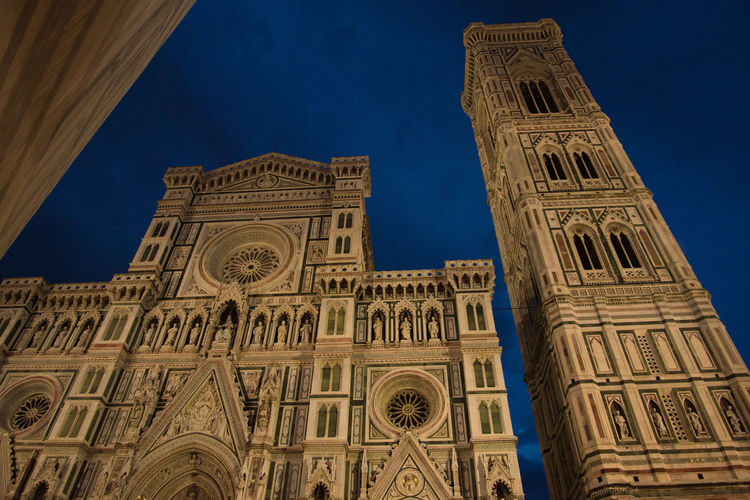 Low Angle View Of Florence Cathedral