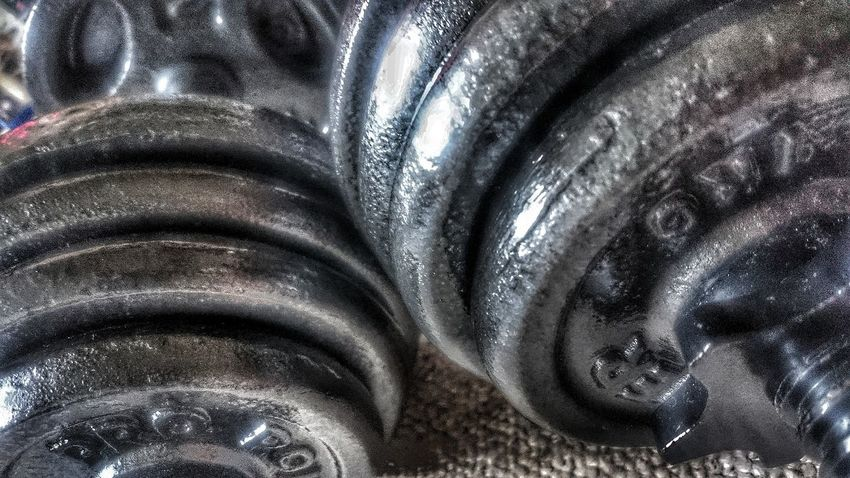 Lift my Spirits Background Backgrounds Weights Fitness Fitness Training Dumbells Keepfit Heavy Metal Time For A Change NewYear New Years Resolution 2018 Training Pump Pump It Up! Metal Full Frame Indoors  Abstract No People Textured  Close-up