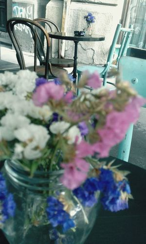 Flower Indoors  Pink Color Bouquet No People Close-up Fragility Day Nature Freshness Cafe Amelie Belgrade Outdoors Decorative Flowers
