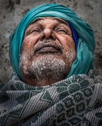 This photo i took in Varanasi near a cemetery... The emotion of losing his beloved can be seen on his face. Death...our final destination... the only truth! Azzydoon Varanasi Grief Portrait Portait Photography Old Man Portrait Old Man Emotion Travel People Streetphotography The Portraitist - 2018 EyeEm Awards Portrait Men Human Face Headshot Senior Adult Senior Men Beard Looking At Camera Close-up Mustache