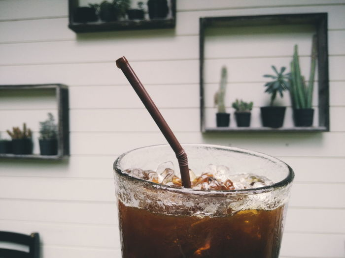 EyeEm Selects Drink No People Refreshment Outdoors Relaxing Thailand Coffee Coffee Time Coffee Shop Chiang Mai | Thailand Coffee - Drink Coffeelover Photagraphy