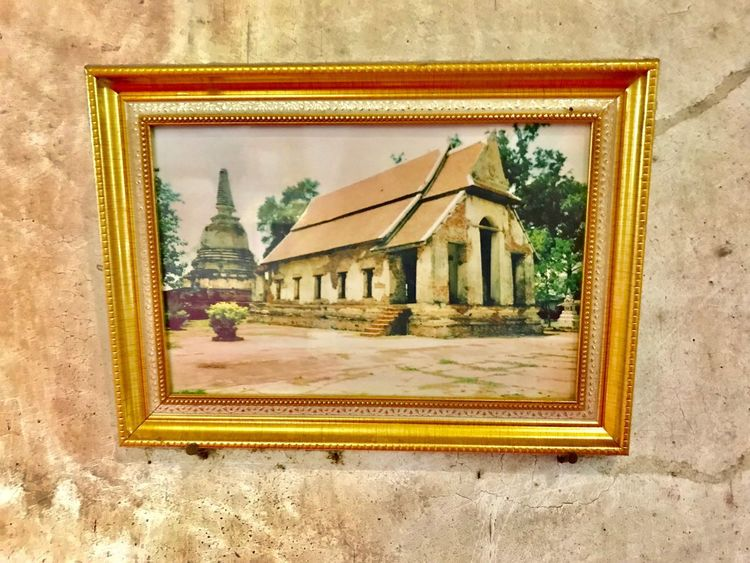 Mae Nang Pluam Temple Thailand Built Structure Architecture Building Exterior Wall - Building Feature No People Building Day Frame Art And Craft Picture Frame Design Religion