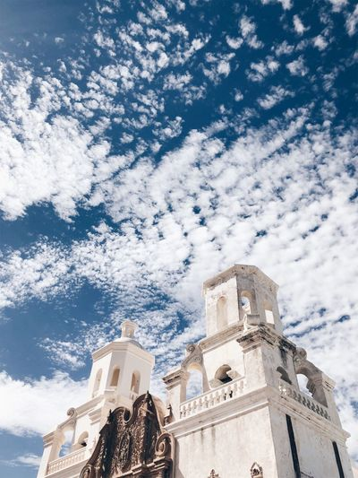 Architecture Belief Building Building Exterior Built Structure Cloud - Sky Day Low Angle View Nature No People Ornate Outdoors Place Of Worship Religion Sky Spirituality Tower Travel Destinations