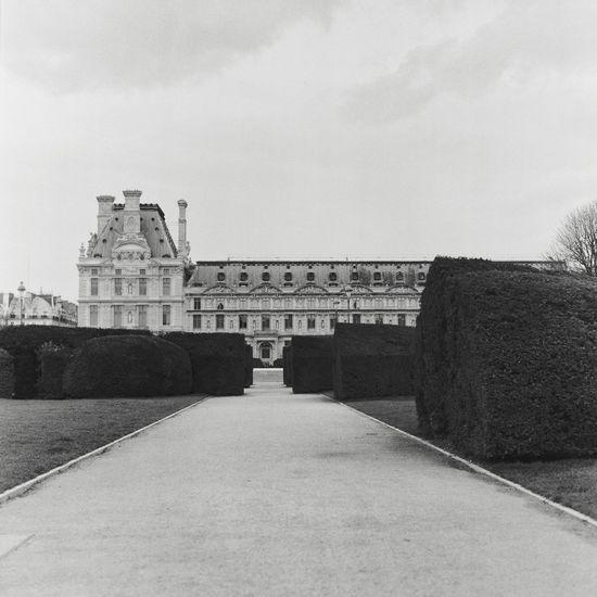 Musée du Louvre Paris Film Photography Built Structure Architecture Sky Building Exterior Nature History No People Day The Past Building Tourism