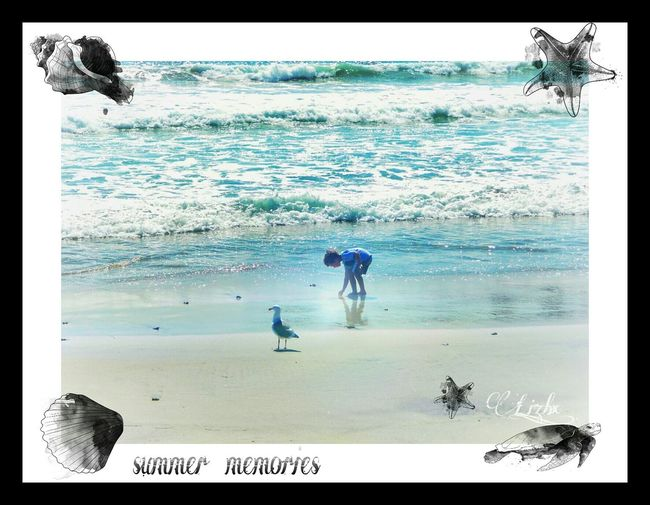 Beautiful summer memories....🌊🐚😎💦✨📷 Relaxing Funwithediting Summermemories Beautiful View Enjoying Life Beachphotography