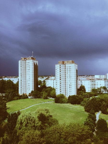 The View From My Window Urban Landscape Sky And Clouds I ❤ BERLIN