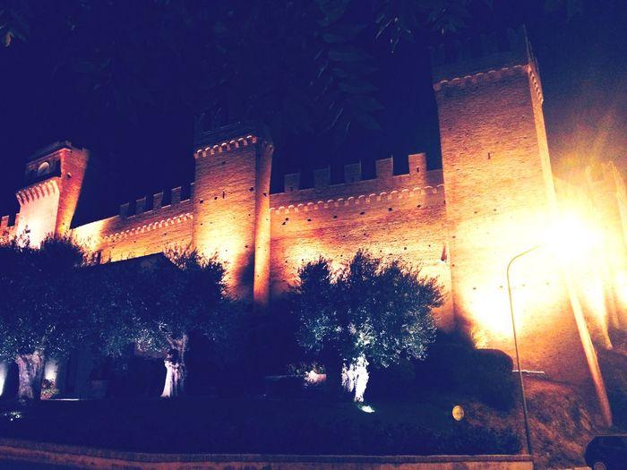 Castle Nightphotography Italy