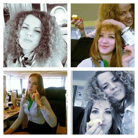 Мы долго не виделись)) подружки Friends Beautiful Girl apple и яблоко с нами в руках))
