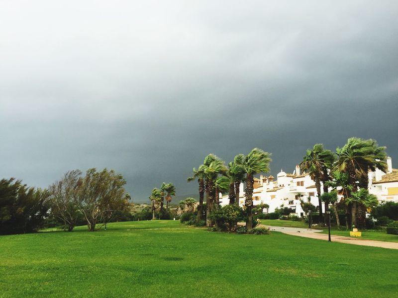 Andalusia Andalucía Mediterranean  Cadiz Alcaidesa SPAIN Spain♥ Storm Stormy Weather
