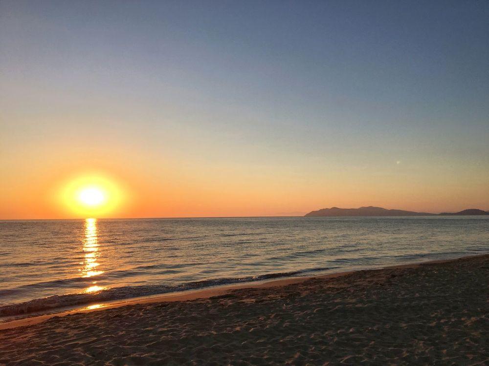 Taking it in… #Sunset #Giannella #Beach
