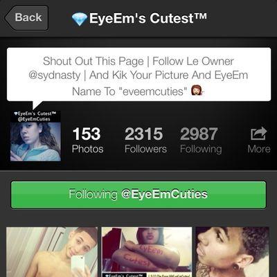Follow @EyeEmCuties