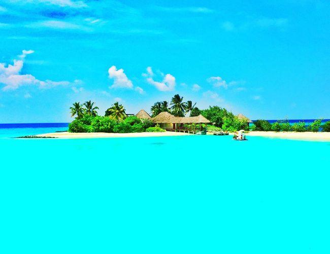Beautiful spa island