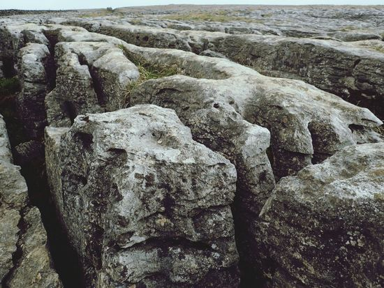 Eroded limestone pavement, en route to Ingleborough. Landscapes In Yorkshire Geology Nature_collection Landscape_collection EyeEmNatureLover Mountain Hiking