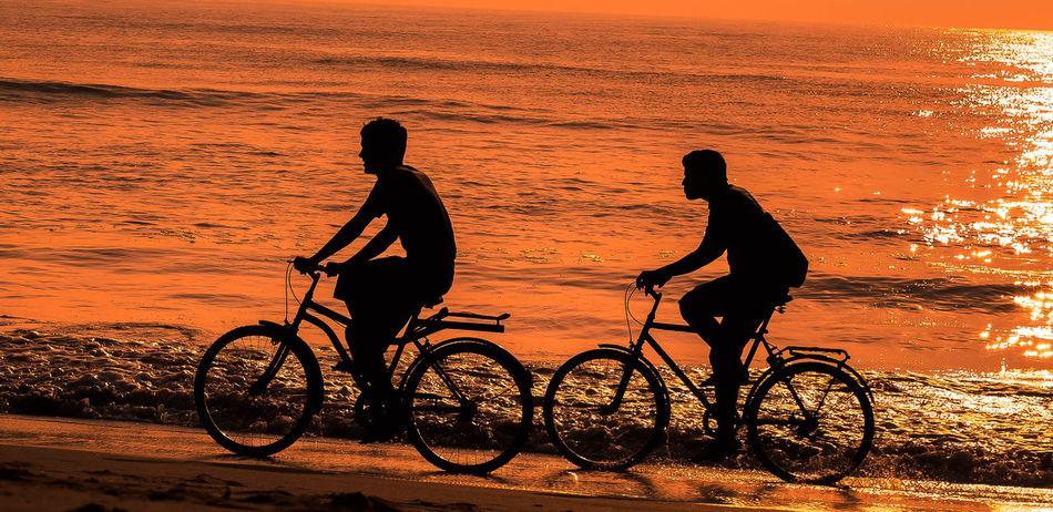 Celebrate Your Ride Early MorningFun Ride Beach First Eyeem Photo
