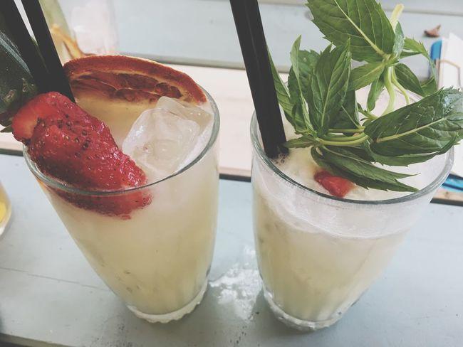 Happy Hour Cocktail Tropical Piña Colada