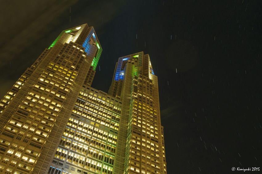 「ラグビーワールドカップ2019開催都市決定」特別ライトアップ Nightphotography Building Starlit Sky Lightup Olympus Om-d E-m10
