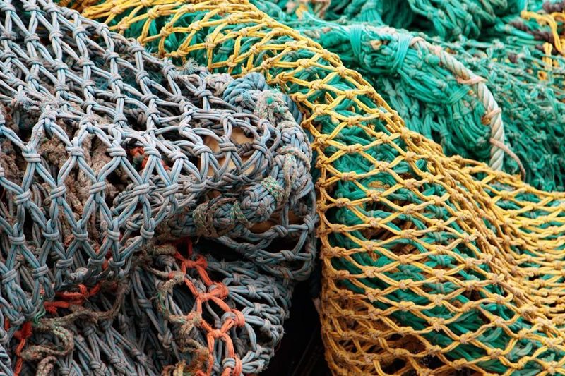 Fishing Net Fishing Industry Rope Fishing Equipment Full Frame No People Textured  Outdoors Close-up Day Complexity