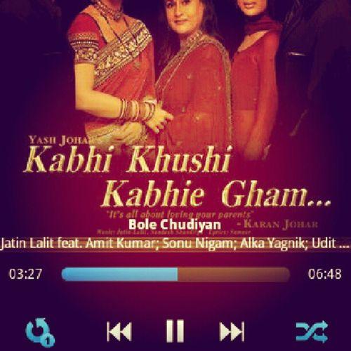 Bharati Khabi Kuhshi Khabi Gham BoleChudiyan India LejaLeja From Bollywood Movie Production Amazing SoGood KareenaKapoor Love Soft FeelGood Classical Il était une fois l'Inde ...