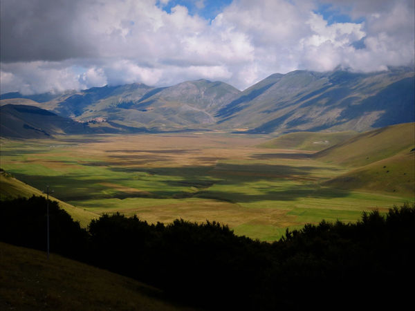 A Sense Of Freedom Castelluccio Plain Central Italy Landscape_Collection Landscape_photography Lights And Shadows No People Outdoors Physical Geography Plain View Space Around Me Landscapes With WhiteWall The KIOMI Collection An Eye For Travel
