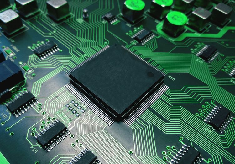 IC Part component and line circuit on board electronic for background technology concept. Digital Mother Board Computer Chip Technology Computer Part Science Electronics Industry Backgrounds Circuit Board Full Frame Pattern Network Server Hard Drive Network Security Computer Network IT Support Modem Mainframe Binary Code It Professional Big Data