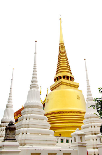 Place Of Worship Spirituality Religion Temple - Building Gold Colored Stupa Spire  Architecture Temple Culture Gold Built Structure Pagoda Building Exterior Cultures Gilded Buddha Yellow Travel Destinations Golden Thailand
