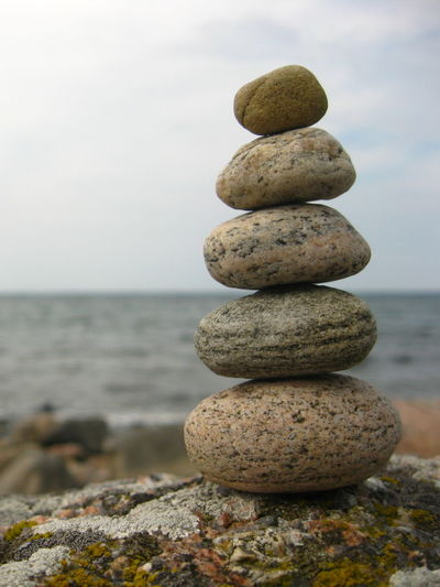 Balancing stones, rocking the mind: step 3 to 5 Balance Beach Beauty In Nature Focus On Foreground Group Of Objects Horizon Over Water In A Row Nature Non-urban Scene On Top Of Outdoors Pebble Rock - Object Rockbalance Rockbalancing Scenics Sea Shore Stack Stone - Object Tranquil Scene Tranquility Travel Destinations Vacations Water