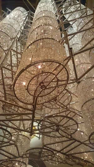 Ai Weiwei Exhibition Bicycle Chandelier London Royal Academy