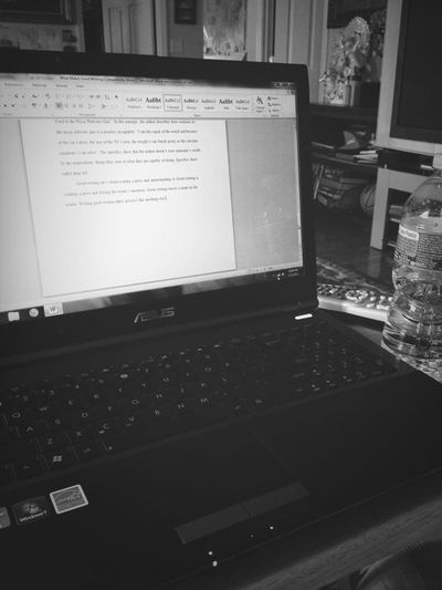 Writer's block sucks when shit is due in less than an hour
