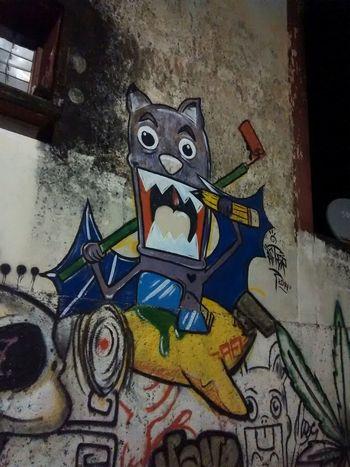 ... Graffiti Wall Taking Photos Streamzoofamily Mexico Felipe Carrillo Puerto