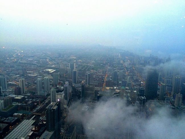 Willistower Head In The Clouds Head In The Sky Topofthecity Chi-Town